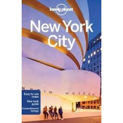 New York City útikönyv Lonely Planet 2016 akciós