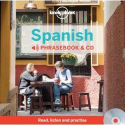 Lonely Planet spanyol szótár és CD Spanish Phrasebook & Dictionary and Audio CD 2015