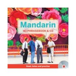 Lonely Planet kínai mandarin szótár és CD Mandarin Phrasebook & Dictionary and Audio CD  2015