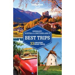 Germany, Austria & Switzerland's Best Trips, Switzerland útikönyv Lonely Planet   Svájc útikönyv 2016