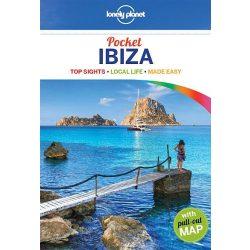Ibiza útikönyv Lonely Planet Pocket Ibiza, angol 2015 Spanyolország