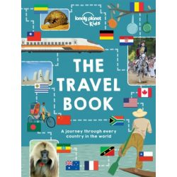 The Travel Book A journey through every country in the world Lonely Planet könyv 2015 angol