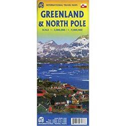 Greenland térkép ITM 1:500 000