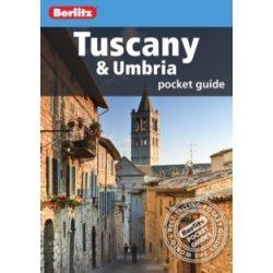 Toszkána útikönyv Tuscany and Umbria Pocket Guide Berlitz 2013 angol