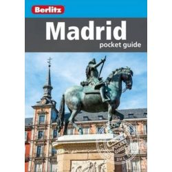 Madrid útikönyv Berlitz Pocket Guide, angol  2016