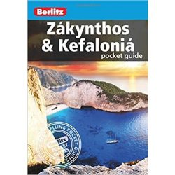 Zakynthos útikönyv, Zakynthos & Kefalonia Berlitz pocket guide 2017 angol