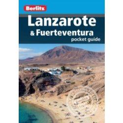 Lanzarote útikönyv Berlitz Pocket Guide,  Lanzarote & Fuerteventura 2015 angol