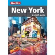 New York City útikönyv Berlitz Pocket Guide, angol 2016