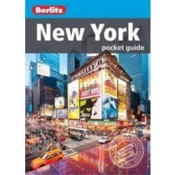 New York City útikönyv Berlitz Pocket Guide, angol 2016