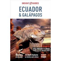 Ecuador útikönyv, Ecuador and Galapagos útikönyv Insight Guides angol 2016