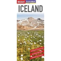 Izland, Iceland térkép Insight Guide 1:910 000