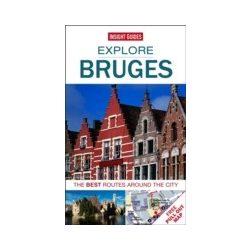 Explore Bruges útikönyv Insight Guides Nyitott Szemmel-angol 2014