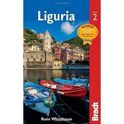 Liguria útikönyv Ligúr-part útikönyv Liguria Bradt 2016 - angol