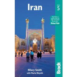 Irán útikönyv Iran útikönyv Bradt 2017  - angol