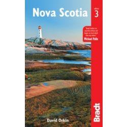 Nova Scotia útikönyv Bradt 2017 - angol