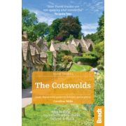 Cotswolds útikönyv : Including Stratford-upon-Avon, Oxford & Bath útikönyv (Slow Travel) Bradt Guide, angol 2017