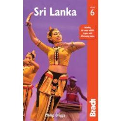 Sri Lanka útikönyv Bradt 2018 - angol