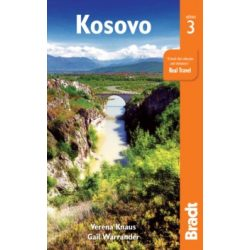 Koszovó útikönyv, Kosovo útikönyv Bradt 2017 - angol