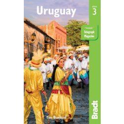 Uruguay útikönyv Bradt 2017 - angol