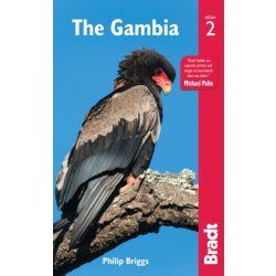 Gambia útikönyv Bradt 2017 - angol The Gambia Guide