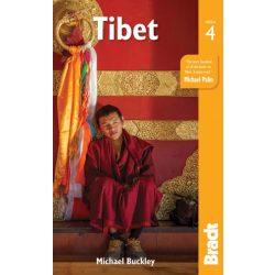 Tibet útikönyv Bradt 2018 angol
