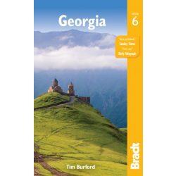 Georgia útikönyv Bradt 2018 - angol