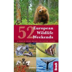 52 European Wildlife Weekends : A year of short breaks for nature lovers útikönyv Bradt Guide, angol 2018