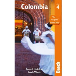 Colombia útikönyv, Colombia Guide Bradt 2019 angol