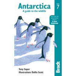 Antarktisz útikönyv, Antarctica útikönyv: A Guide to the Wildlife Bradt 2018 - angol