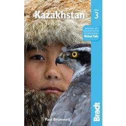 Kazakhstan útikönyv Bradt Kazahstan, Kazasztán 2018 - angol