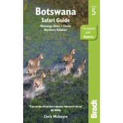 Botswana útikönyv Bradt Travel Guides 2018 - angol, Okavango Delta, Chobe, Northern Kalahari