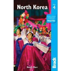 North Korea útikönyv Bradt Guides 2018 angol Észak-Korea útikönyv
