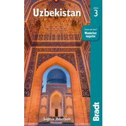 Üzbegisztán útikönyv Bradt  Uzbekistan útikönyv 2019 - angol