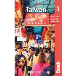 Taiwan útikönyv Bradt  2019 angol