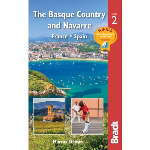 Bilbao útikönyv, Basque Country and Navarre : France * Spain útikönyv Bradt Guide, angol 2019