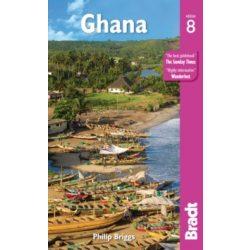 Ghana útikönyv Bradt 2019 - angol