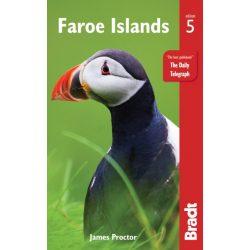Faroe Islands Feröer-szigetek útikönyv Bradt 2019 - angol