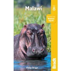 Malawi útikönyv Bradt 2019 - angol
