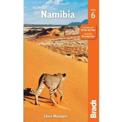 Namibia Namíbia útikönyv Bradt 2019 angol
