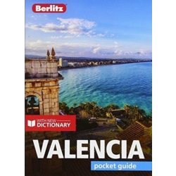 Valencia útikönyv Berlitz, Valencia Pocket Guide, angol 2018 Travel Guide with Dictionary