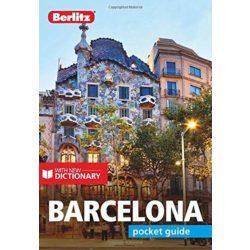 Barcelona útikönyv Berlitz Pocket Guide, angol  2019