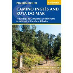 Camino útikönyv, The Camino Ingles and Ruta do Mar : To Santiago de Compostela and Finisterre from Ferrol Cicerone 2019 angol