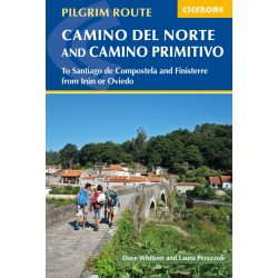 Camino útikönyv, Camino del Norte and Camino Primitivo To Santiago de Compostela and Finisterre from Irun or Oviedo, Cicerone 2019 angol
