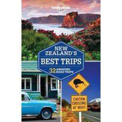 New Zealand's Best Trips Lonely Planet Új-Zéland útikönyv 2016