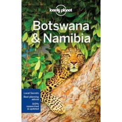 Botswana útikönyv, Botswana & Namibia Lonely Planet, Namíbia útikönyv 2017 angol