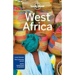 Afrika útikönyv, West Africa Lonely Planet  2017