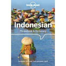 Lonely Planet indonéz szótár Indonesian Phrasebook & Dictionary 2018