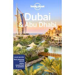 Dubai útikönyv, Dubai Abu Dhabi Lonely Planet útikönyv 2018