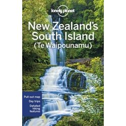 New Zealand South Island Lonely Planet Új-Zéland  útikönyv 2018