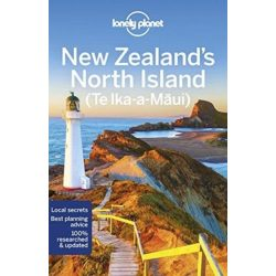 New Zealand's North Island Lonely Planet Új-Zéland útikönyv  2018